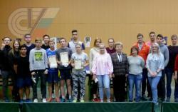 Посвящение в студенты первокурсников кафедры (настольный теннис, бильярд)
