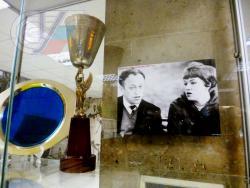 Экспозиция, посвященная Зое Рудновой в музее РГУФКСМиТ