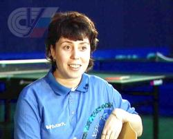 Настольный теннис: Палина Ирина