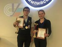 Студенты нашей кафедры Диана Миронова и Павел Плотников стали  чемпионами Москвы по комбинированной пирамиде