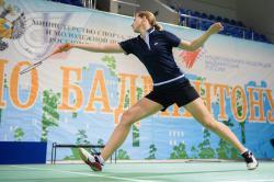 Анастасия Роньжина - чемпионка России среди студентов по бадминтону!!!