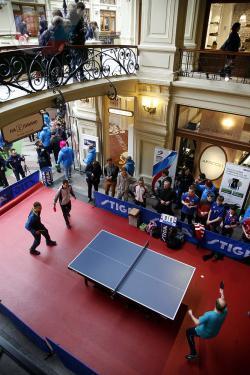 Поздравляем с Всемирным днём настольного тенниса всех профессионалов и любителей