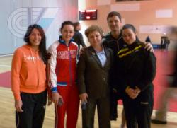 Поздравляем выпускников кафедры с успешным выступлением на Чемпионате России по настольному теннису!