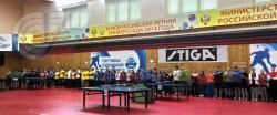 Чемпионат России среди студентов по настольному теннису