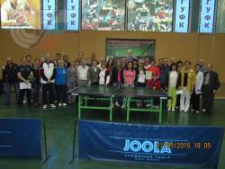 Всероссийский учебно-методический семинар тренеров по настольному теннису.